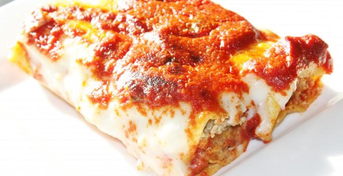 Cannelloni met groenten & gehakt