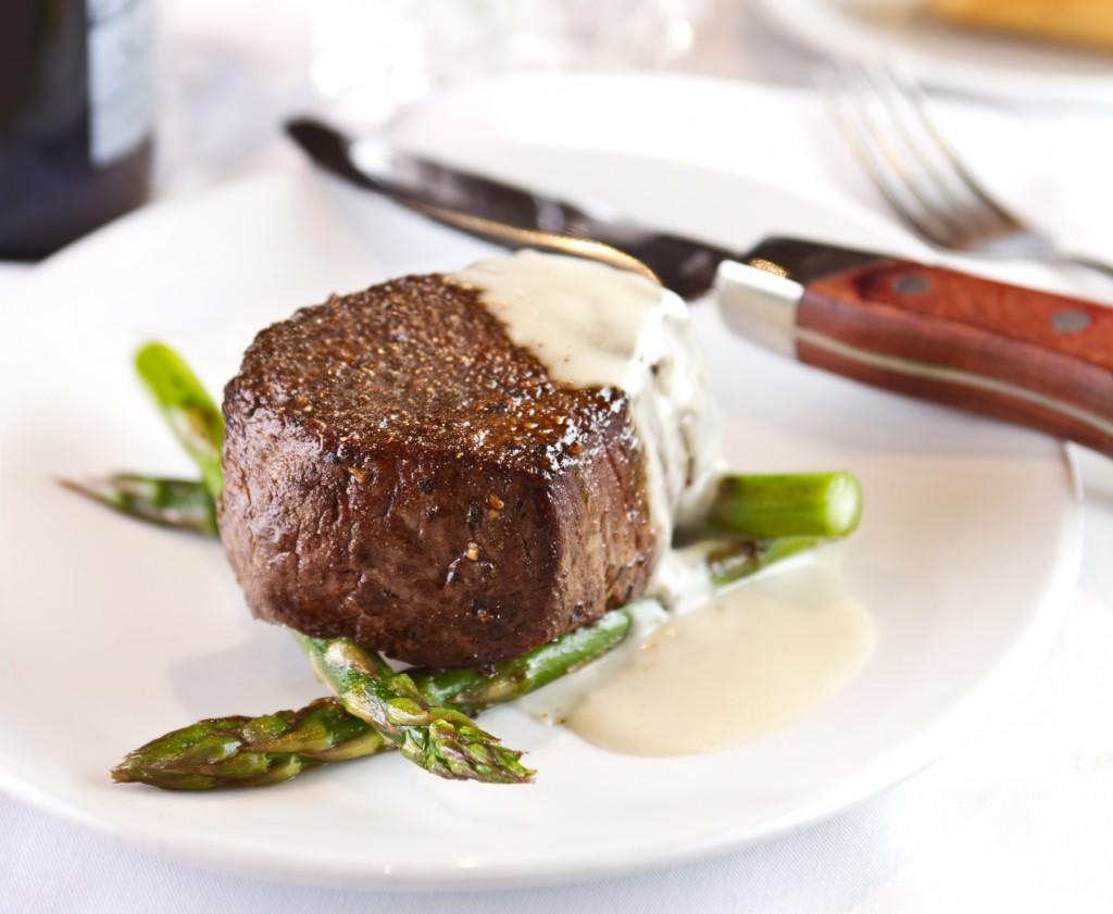 Steak & groene asperges